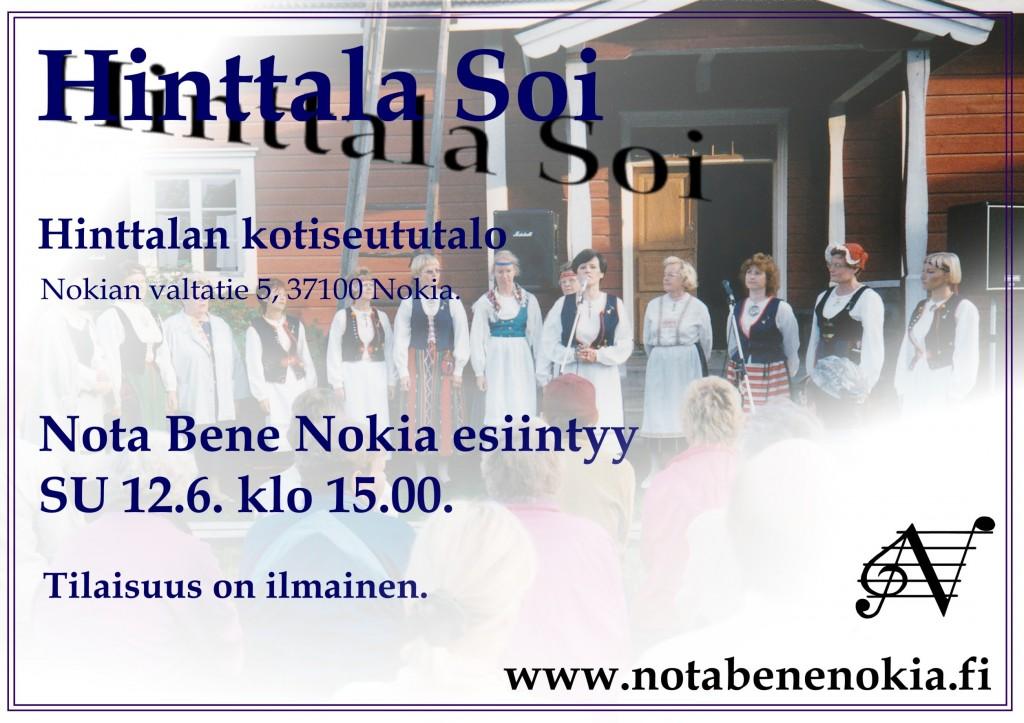 Nota Bene Nokia_Hinttala soi_2016